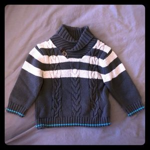 Cherokee Sweater with Elbow Patches